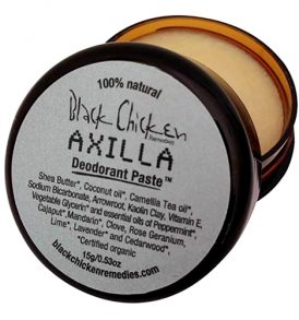Black Chicken Remedies - Axilla Deodorant Paste 15g 01
