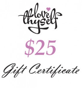 Image of $25 Gift Certificate by Love Thyself Australia