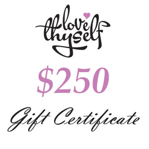 Image of $250 Gift Certificate by Love Thyself Australia