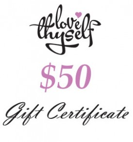 Image of $50 Gift Certificate by Love Thyself Australia