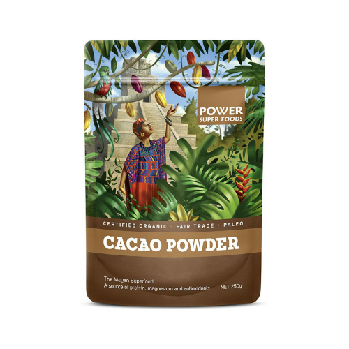 Image of Power Super Foods – Cacao Powder 250g by Love Thyself Australia