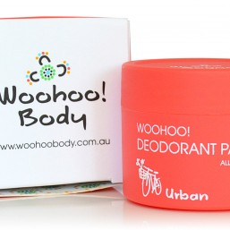 Woohoo Body All Natural Deodorant Paste with Box