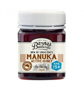 Image of Barnes – Manuka Active Honey NPA15+ 250g by Love Thyself Australia