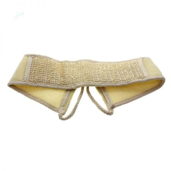 Natural Soft Exfoliating Loofah Shower Massage Back Strap image by Love Thyself Australia