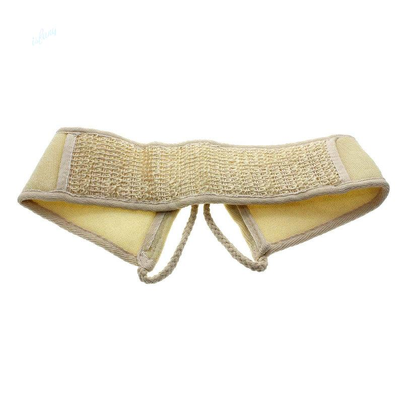 Natural Soft Exfoliating Loofah Shower Massage Back Strap