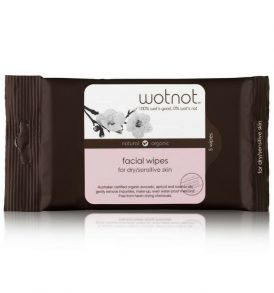 Wotnot Facial Wipes Dry Sensitive Skin