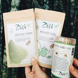 Zen Green Tea Bags and Whisk