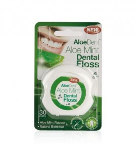 Image of Aloe Dent – Beeswax Dental Floss by Love Thyself Australia