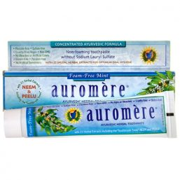 Auromere - Foam Free Mint Herbal Toothpaste 117g 01