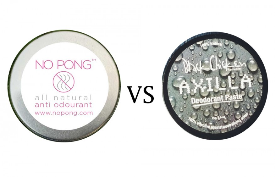 No Pong VS Black Chicken Remedies Axilla Natural Deodorant