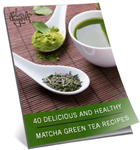 Image of 40 Delicious and Healthy Matcha Green Tea Recipes (Digital) by Love Thyself Australia