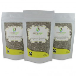 Coffee Body Scrub - 3 pack