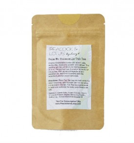 Image of Calm Me Chamomile Tub Tea - Bath Soaks 50g by Love Thyself Australia