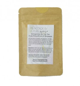 Image of Invigorate Me Pink Grapefruit and Bergamot - Bath Soaks 50g by Love Thyself Australia