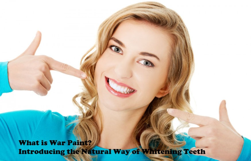 What Is War Paint? Introducing The Natural Way Of Whitening Teeth