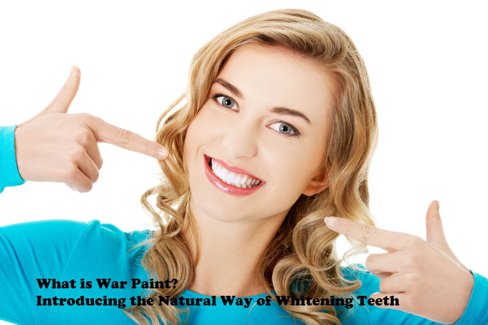 What is War Paint - Introducing the Natural Way of Whitening Teeth image by Love Thy Self