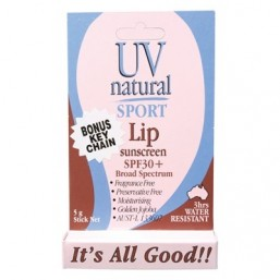 Image of UV Natural Lip Sunscreen SPF30+ by Love Thyself Australia