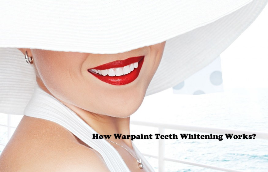 How Warpaint Teeth Whitening Works?
