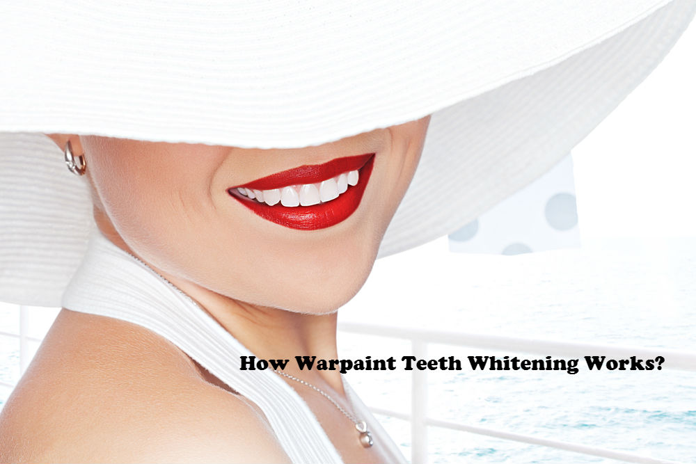 How warpaint teeth whitening works image by Love Thy Self