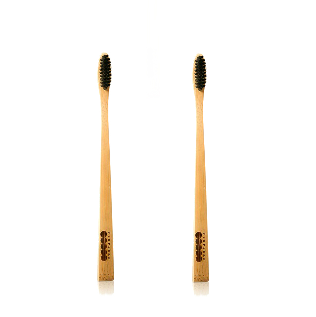 Image of 2 x PearlBar – Bamboo Toothbrush Medium by Love Thyself Australia