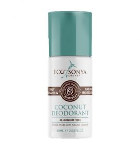 Eco Tan - Coconut Roll on Deodorant 60ml 01