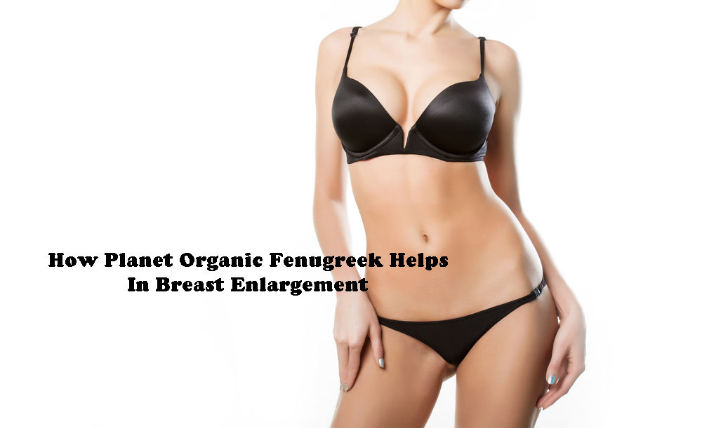 How Planet Organic Fenugreek Helps In Breast Enlargement by Love Thyself