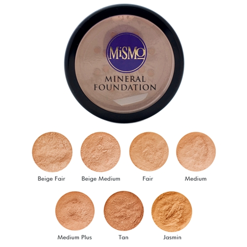 MiSMo - Mineral Makeup Foundations Medium 01