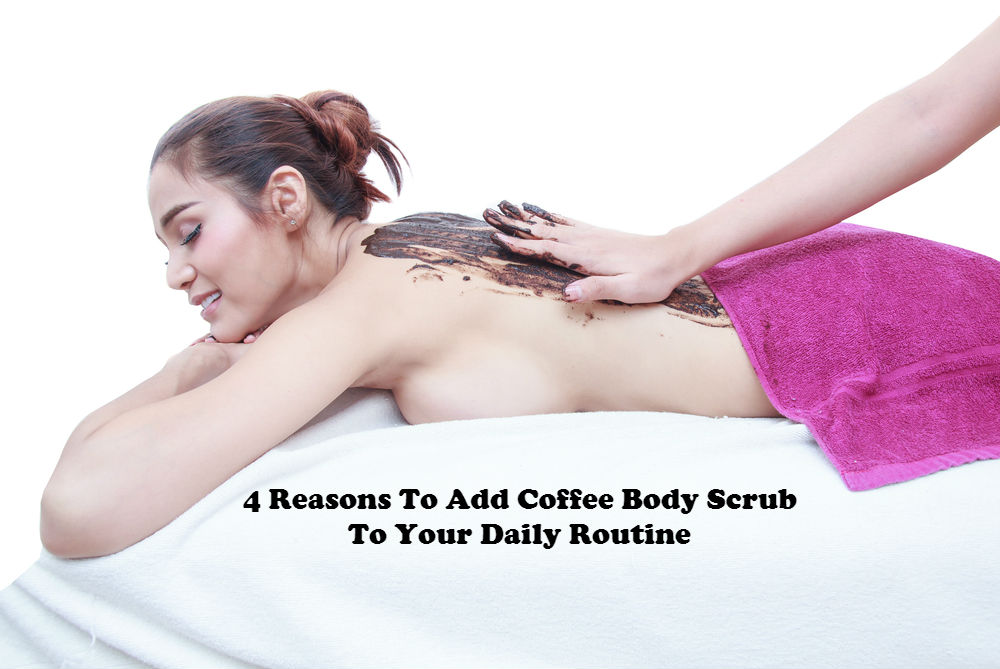 4 Reasons To Add Coffee Body Scrub To Your Daily Routine image by Love Thyself Australia