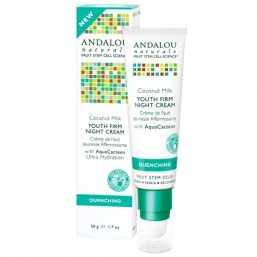 Andalou Naturals - Coconut Firm Night Cream 50g 01