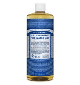 Dr Bronners - Liquid Castile Soap Peppermint 946ml