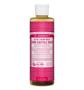 Image of Dr Bronners - Liquid Castile Soap Rose 237ml by Love Thyself Australia