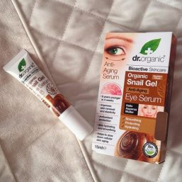 Dr Organic – Eye Serum Snail Gel 15ml 04