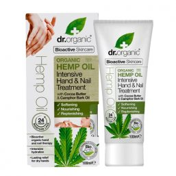 Dr Organic – Hemp Hand & Nail Oil 100ml 01