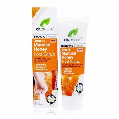 Dr Organic – Manuka Foot Scrub 125ml 01
