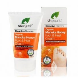 Dr Organic – Manuka Honey Foot & Heel Cream 125ml 01
