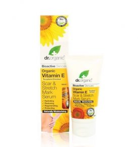 Dr Organic – Vitamin E Scar & Stretch Mark Serum 50ml 01