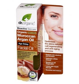 Dr Organic - Argan Facial Oil 30ml 01