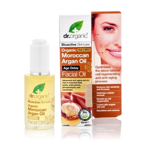 Dr Organic – Argan Facial Oil 30ml image by Love Thyself