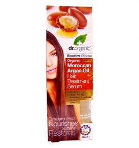 Dr Organic - Hair Treatment Argan Oil 100ml 01