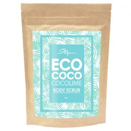 Image of ECOCOCO - Lime Body Scrub 220g by Love Thyself Australia