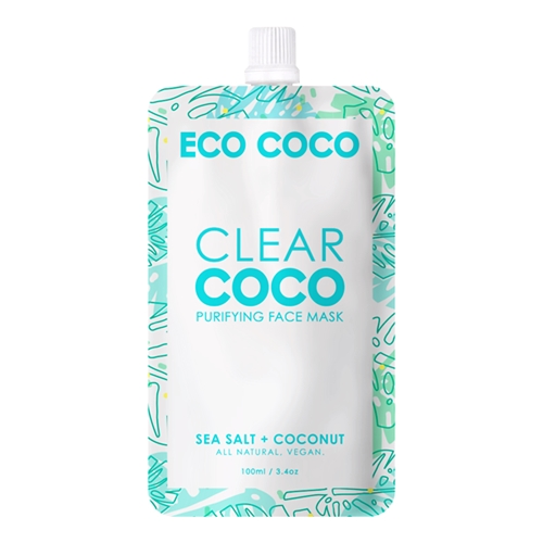 Image of ECOCOCO - Purifying Face Mask 100ml by Love Thyself Australia