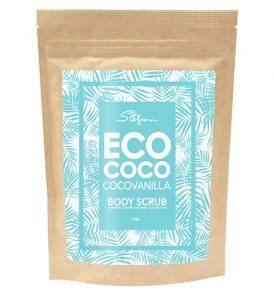 Image of ECOCOCO - Vanilla Body Scrub 220g by Love Thyself Australia