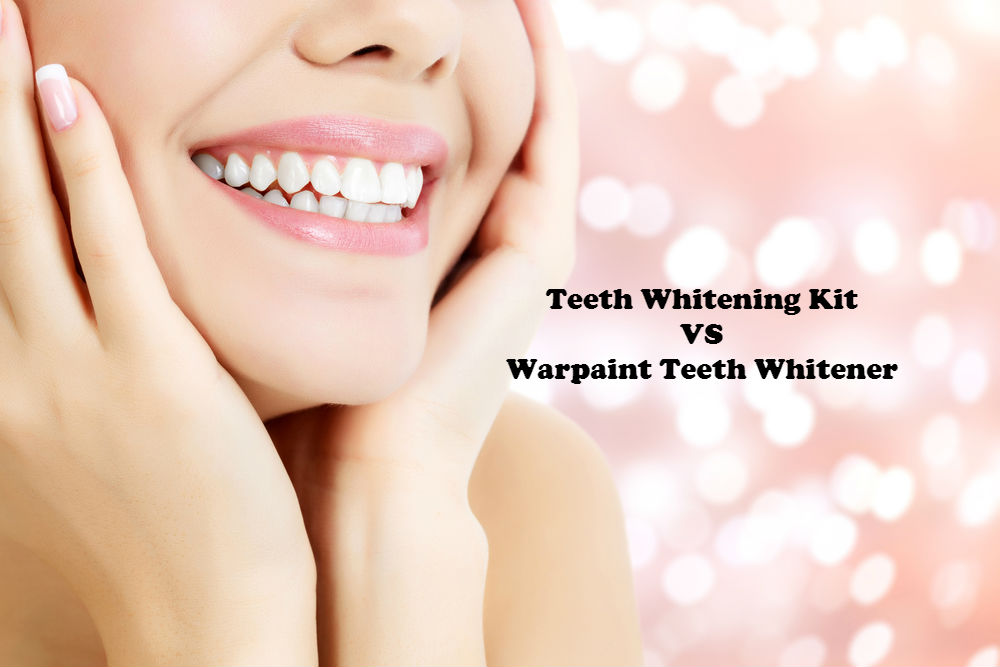 Teeth Whitening Kit VS Warpaint Teeth Whitener image by Love Thyself Australia