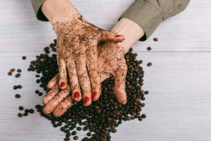Natural coffee body scrub image by Love Thyself Australia