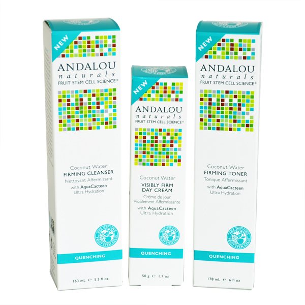 26 Andalou Natural Firming Pack