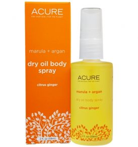 Image of Acure – Citrus Ginger Dry Oil Body Spray 59ml by Love Thyself Australia