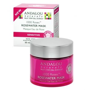 Image of Andalou Naturals – Rosewater Mask 50ml by Love Thyself Australia