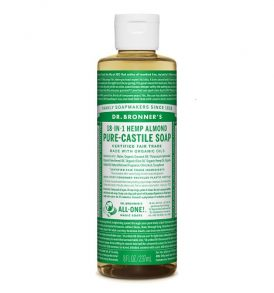 Dr Bronners – Liquid Castile Soap Almond 237ml image by Love Thyself Australia