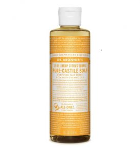 Dr Bronner's - Liquid Castile Soap Citrus Orange 237ml