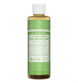 Dr Bronners - Liquid Castile Soap Green Tea 237ml